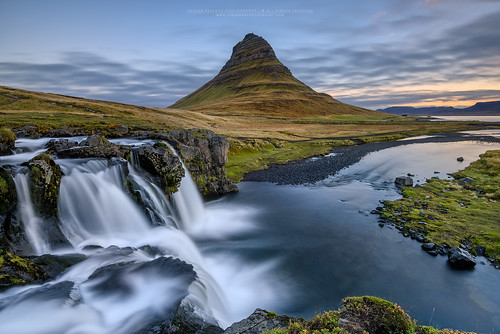 longexposure travel color water colors clouds sunrise river landscape flow waterfall iceland nikkor kirkjufell snæfellsnes 1635 d810 cresende formatthitech