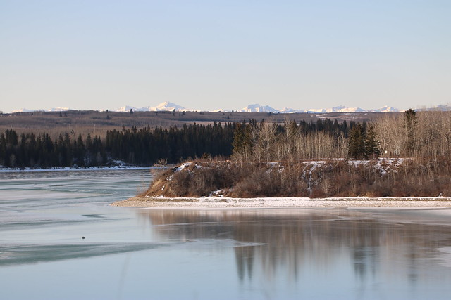 Some of the views from Heritage park Calgary