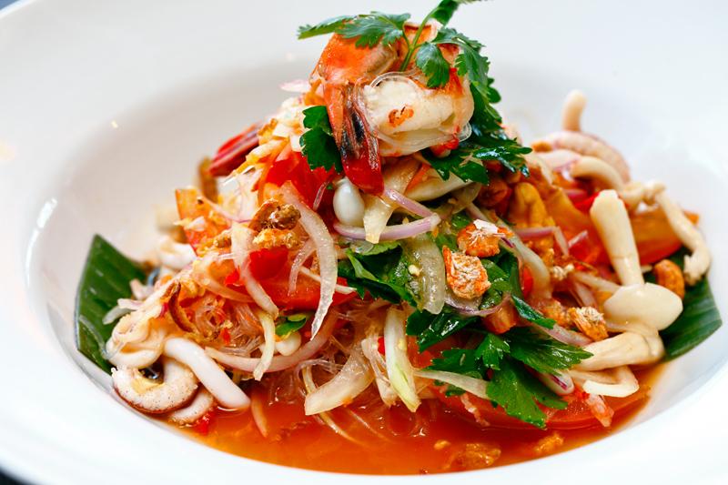 Baan Kun Ya Thai Seafood Vermicelli Salad