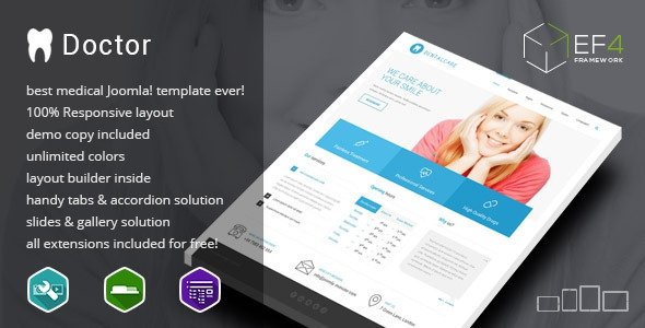 ThemeForest Doctor v1.01 – multipurpose Services Template