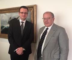 Συνάντηση ΑΝΥΠΕΞ Ν. Ξυδάκη με επικεφαλής Γραφείου Συνδέσμου της πΓΔΜ στην Αθήνα D. Angelov (ΥΠΕΞ, 23.11.15)