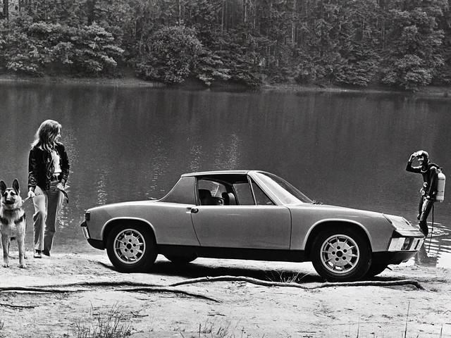Спорткупе Volkswagen Porsche 914 (Typ 47). 1969 – 1973 годы