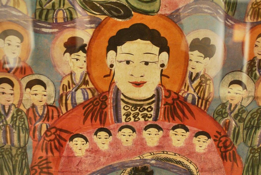 Image pour favoriser la fertilité au musée de la femme vietnamienne à Hanoi.