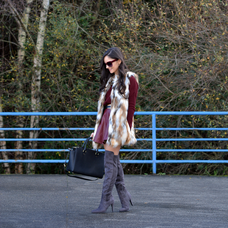 zara_ootd_highboots_burdeos_burgundy_vest_michael kors_05