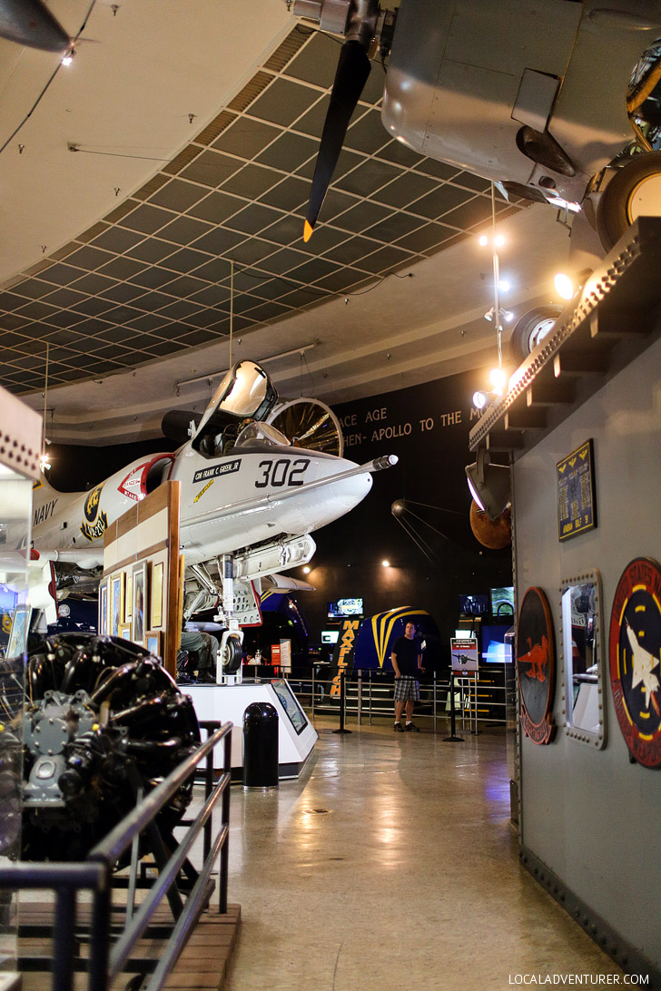 Balboa Park Museums: San Diego Air and Space Museum.