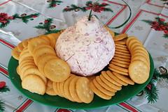 The annual Christmas cheeseball