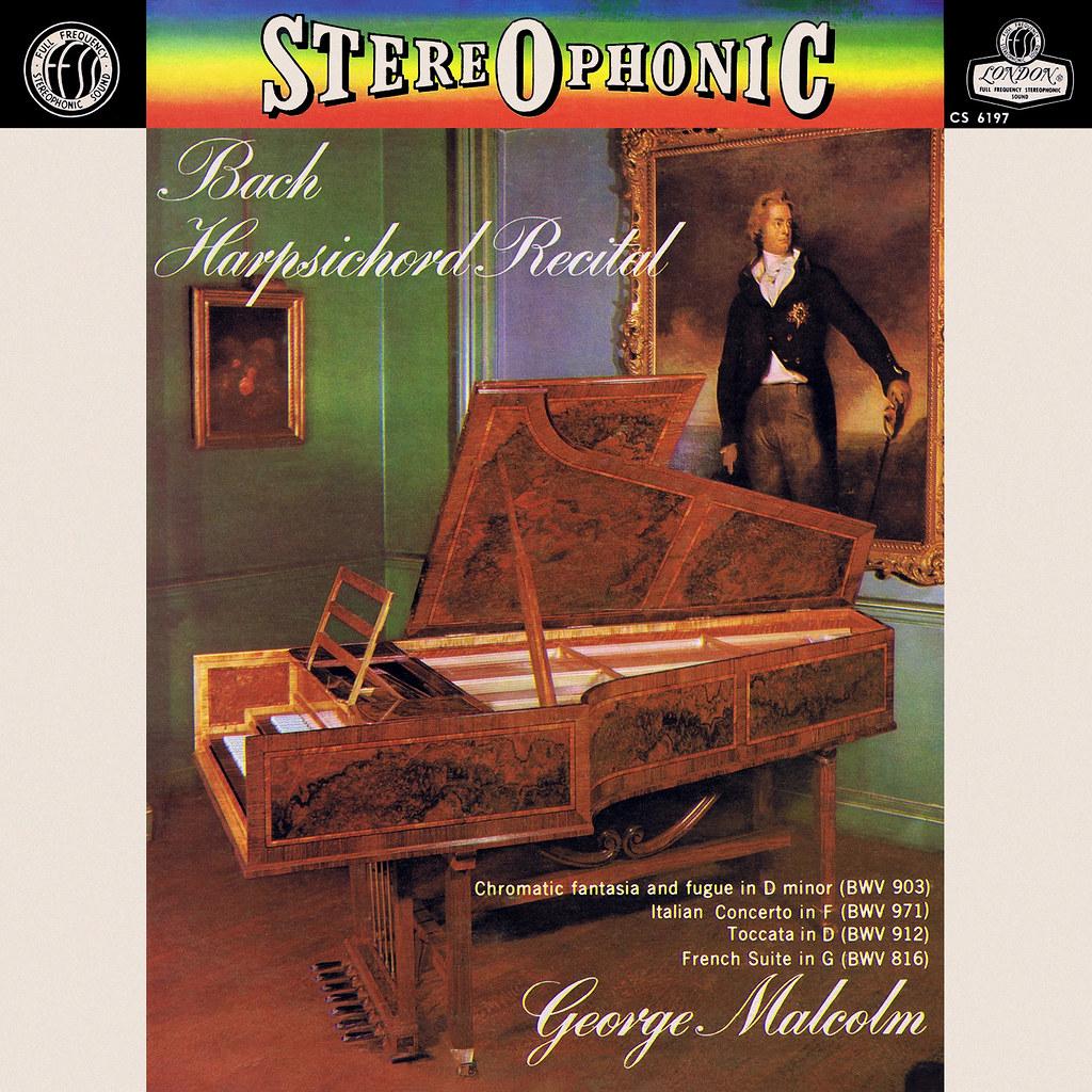 Johann Sebastian Bach - Harpsichord Recital