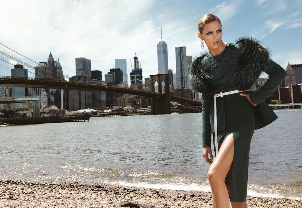 Аня Рубик — Фотосессия для «Bergdorf Goodman» 2016 – 11