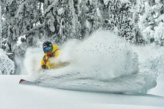 Zápas snowboard versus lyže 5:10