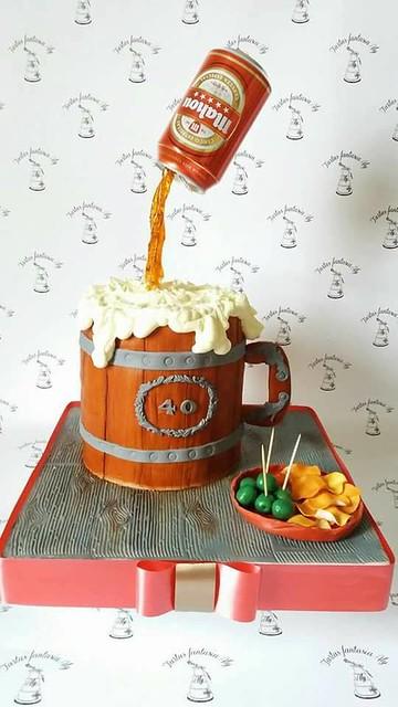 Beer Jar Cake by Crina Alina Chifa