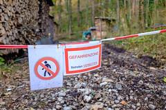 Danger Zone in Oberau