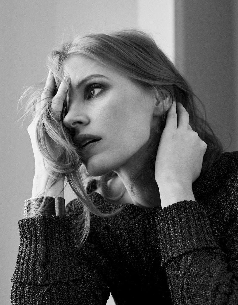 Джессика Честейн — Фотосессия для «Elle» FR 2016 – 2
