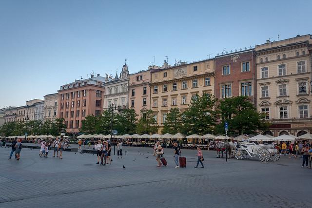 Town square, Kraków