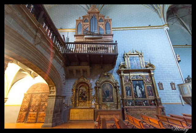 Órgano Iglesia parroquial de San Pedro de Ansó