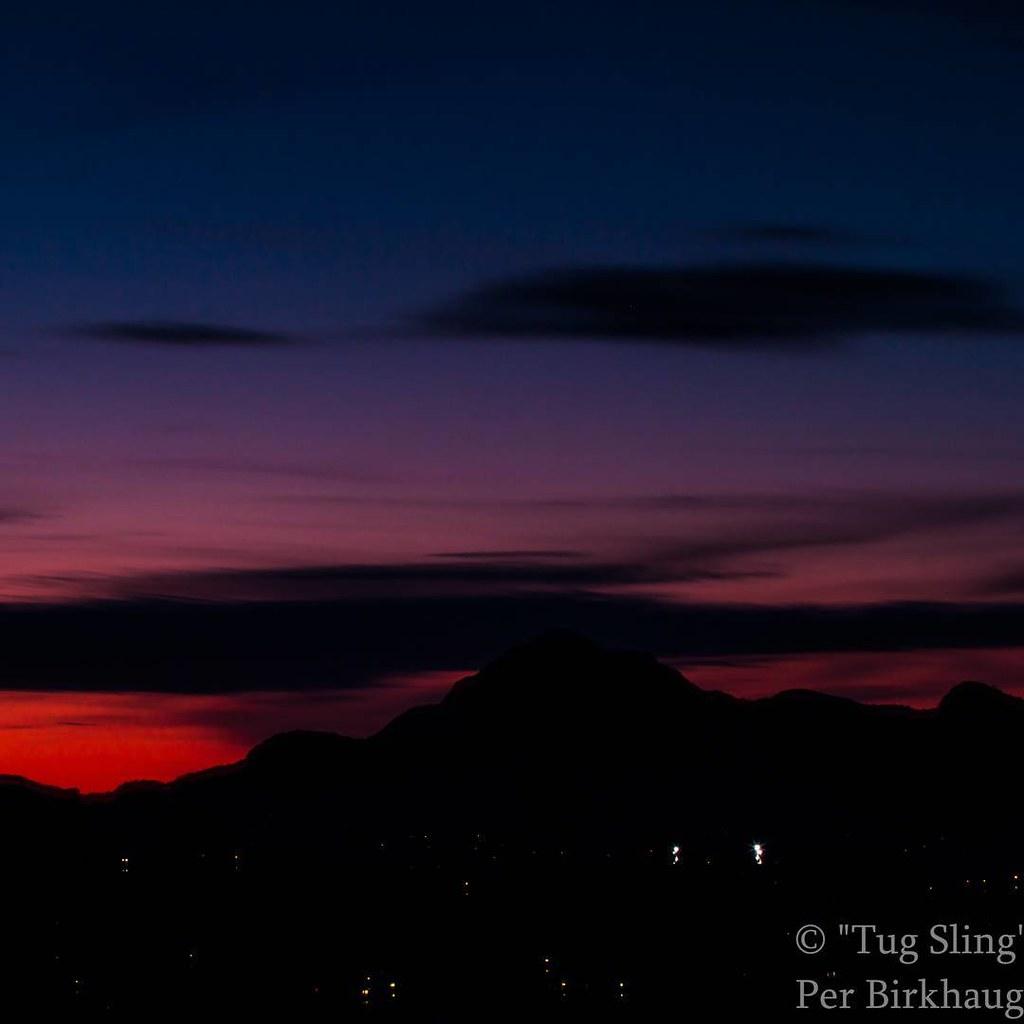 Solnedgang i #bergen #norge #norway #btsommer #nrksommer #fanaposten #yrno