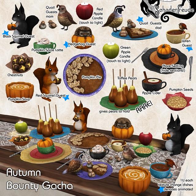 schadenfreude autumn bounty gacha