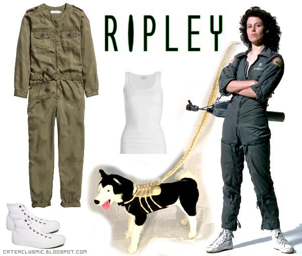 Ellen Ripley Outfit