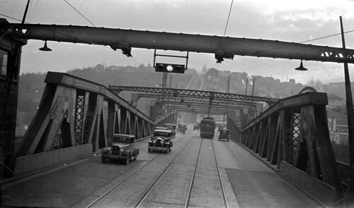 Fremont Bridge, 1927