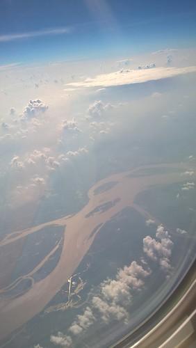 Nubes sobre ríos