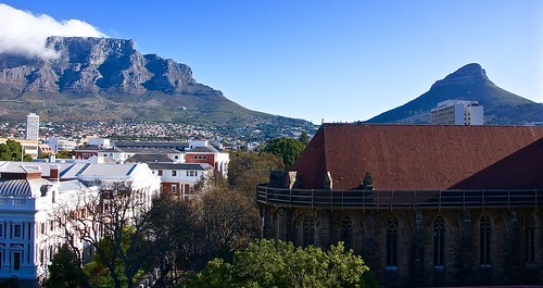 Table Mountain view from the Taj Cape Town Hotel