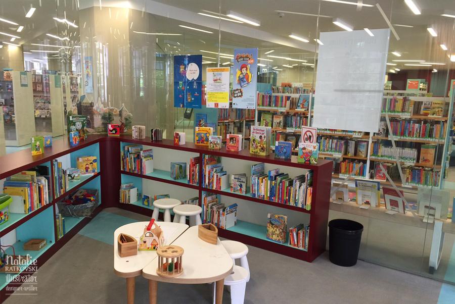 Children Library in Oberhausen, Germany