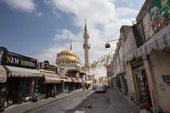 Mosquée surplombant la ville