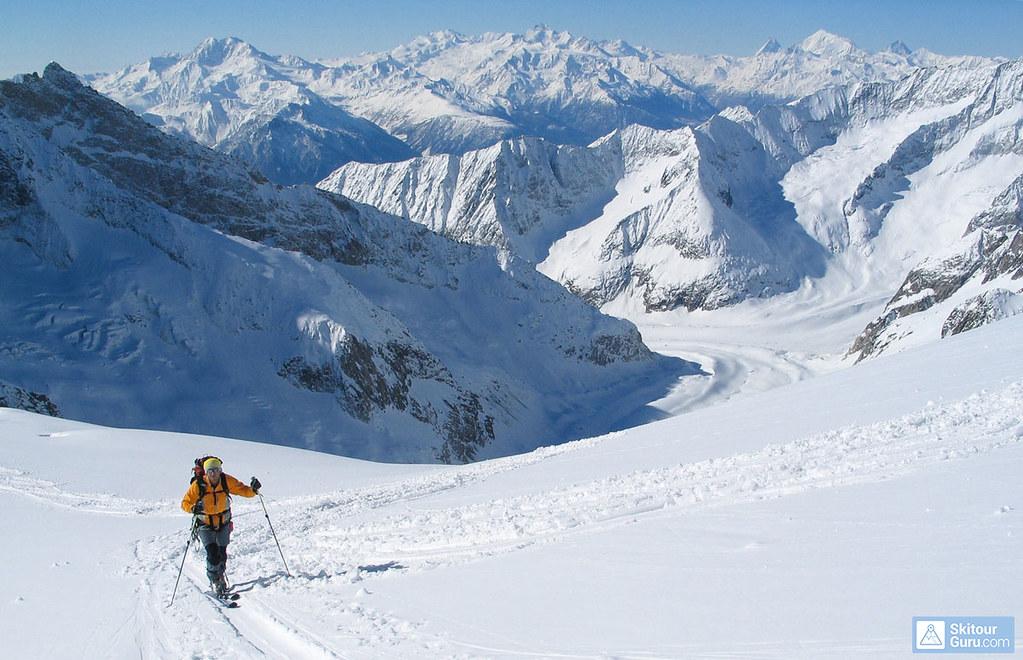 Grosser Aletschhorn Berner Alpen / Alpes bernoises Schweiz foto 04