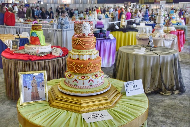 Cake Art Competition : ?Grand National Wedding Cake Competition? Cake ?Tulsa ...