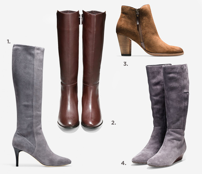 cole haan boots and ankle booties