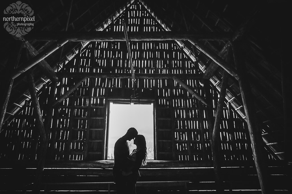 Huble Homestead Engagement Session - Prince George BC Photographer