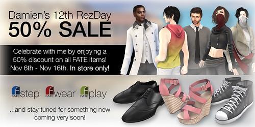 FATE Rezday Sale