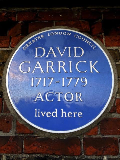 Who is David Garrick (actor)?