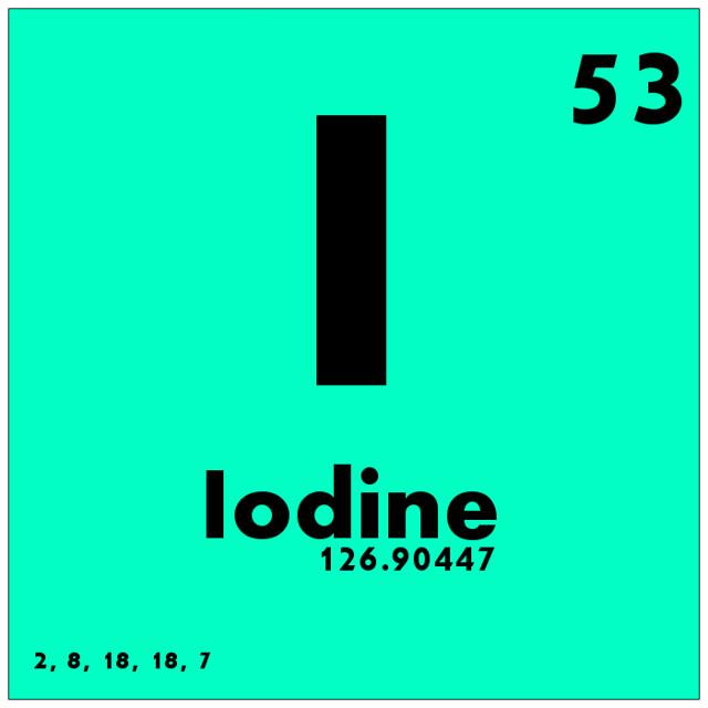 053 Iodine - Periodic Table of Elements