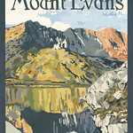 Julie Leidel; Mount Evans; Gouache; 2014; 24x20 - Art of the State 2016 at the Arvada Center for the Arts and Humanities