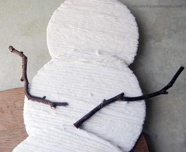 Snowman  Stick Arms