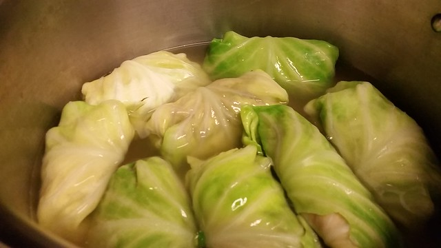 Stuffed Cabbage (raw)