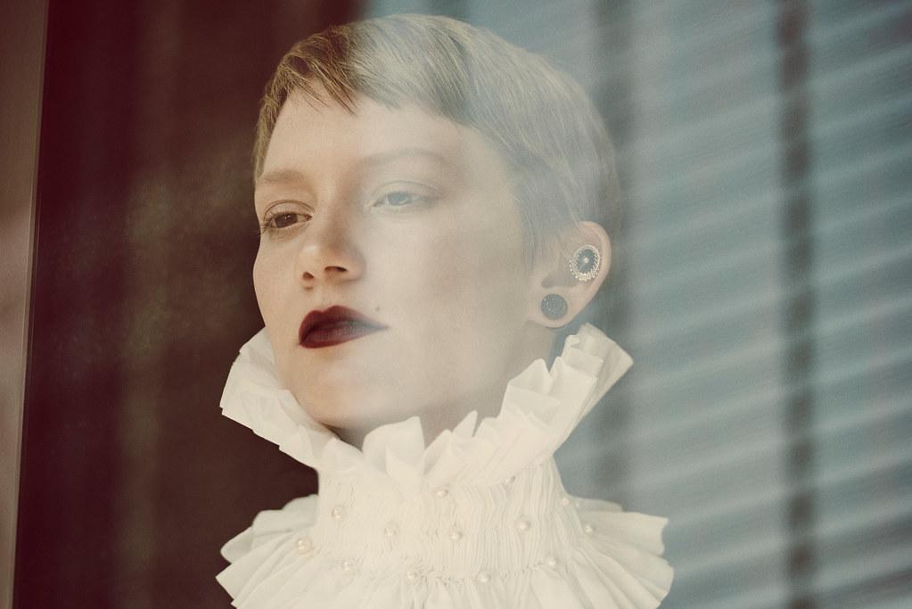 Миа Васиковска — Фотосессия для «Flaunt» 2015 – 1