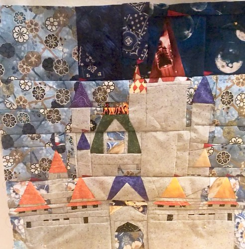 Cinderella's castle in 20x20 tested by Amanda Vargas