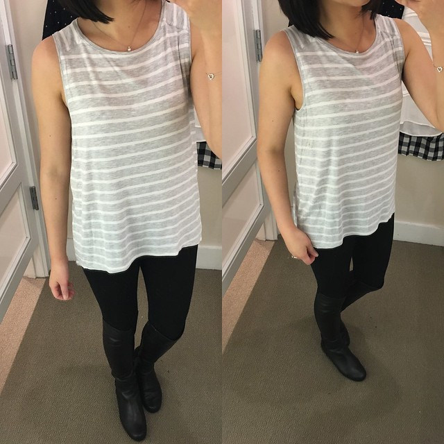 LOFT Striped Swing Tank