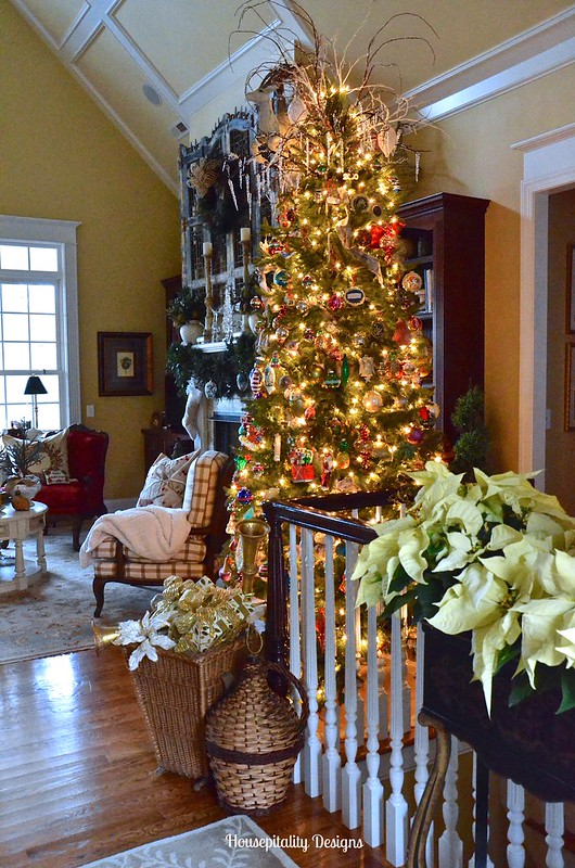 2015 Great Room Christmas Tree - Housepitality Designs