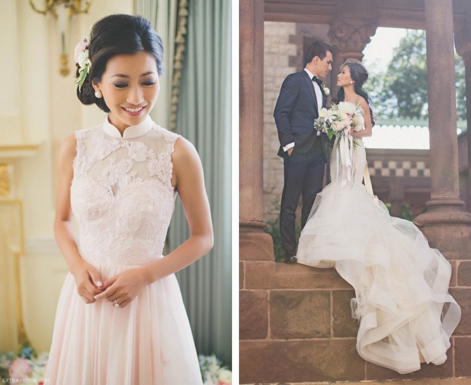 extra petite chinese tea ceremony wedding