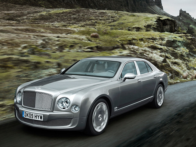 Bentley Mulsanne 2010 года
