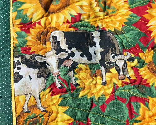Cow quilt - cows