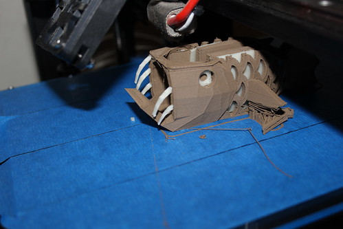 3D Printing - Anglerfish - Side Inserts