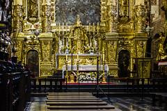 Cracovia - Interno della Basilica Bozego Ciala