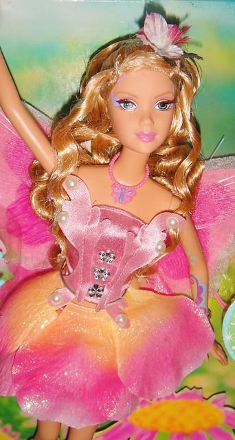 2005 Barbie Fairytopia Elina Doll (Pink Box Restyled) (3)