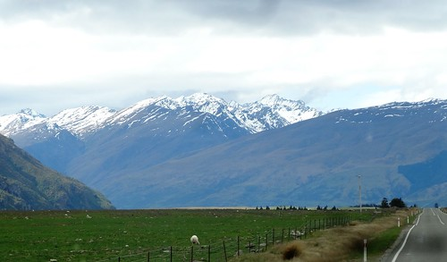 New Zealand. In the Southern Alps near Invercargill on the way into Queenstown.