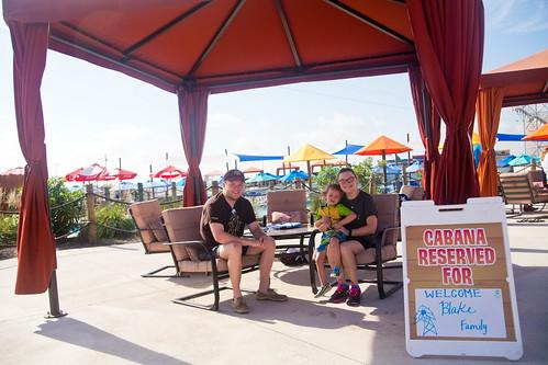 Cabana at Hawaiian Falls Pflugerville