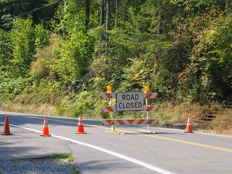 Tokul Rd Closure: Continues until February 2016