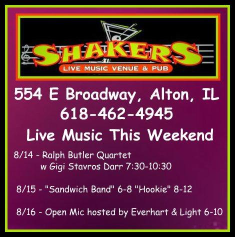 Shakers 8-14 thru 8-16-15